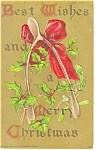 Merry Christmas Postcard ca 1926