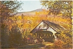 Click here to enlarge image and see more about item p1084: Covered Bridge NH Postcard p1084