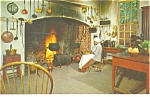 Willamsburg VA Governor s  Palace Kitchen  Postcard p10862