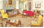 Willamsburg,VA, Craft House Interior  Postcard 1962