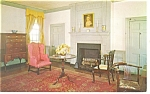 Fredericksburg,VA, M Washington's Drawing Room Postcard