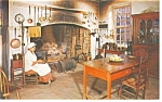 Willamsburg,VA, Gov. Palace Kitchen  Postcard 1965