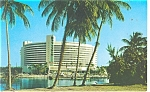 Miami Beach FL Fontainbleau Resort Hotel Postcard p10877 1959