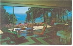 St Thomas VI Mountain Top Hotel Postcard p10883