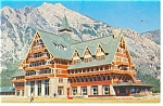 Waterton Park Canada Prince of Wales Hotel Postcard p10887 1962