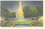 Hershey PA The Electric Fountain Postcard p10909 1938