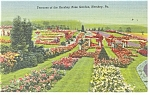 Hershey,PA, Rose Garden Terraces Postcard