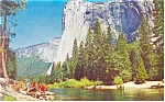 El Capitan Yosemite National Park CA Postcard p10959