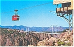 Aerial Tramway, Royal George, CO Postcard