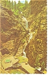 Click here to enlarge image and see more about item p11014: Seven Falls South Cheyenne Canon CO Postcard p11014