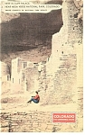 Cliff Palace Mesa Verde National Park CO Postcard p11017