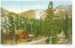 Glencove Inn Colorado Springs CO Postcard p11022