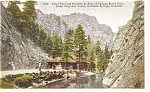 Cheyenne Canon, CO, Trout Pool Postcard