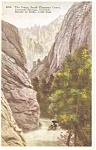 Cheyenne Canon, CO, The Crags Postcard