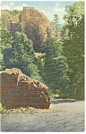 Cheyenne Canon, CO, The Half Dome Postcard