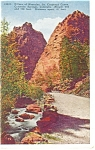 Cheyenne Canon, CO, Pillars of Hercules Postcard