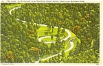 The Loop Great Smoky Mountains National Park  Postcard p1105