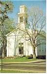 Tolland CT Congregational Church Postcard p11067