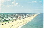 Click here to enlarge image and see more about item p11075: Rehoboth Beach  DE Aerial View Postcard p11075