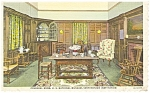 Washington DC, National Museum Colonial Room Postcard