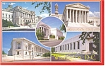 Washington DC, Views of Buildings Postcard