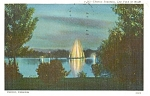 Click here to enlarge image and see more about item p1111: Denver Colorado Electric Fountain Postcard