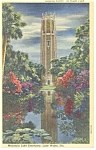 Click here to enlarge image and see more about item p11136: Lake Wales,FL, The Singing Tower Postcard