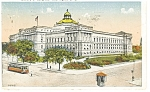 Washington DC, Library Of Congress Postcard 1921