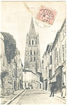 French Cathedral Postcard ca 1921