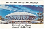 Click here to enlarge image and see more about item p11177: Luther League Convention  Postcard p11177 1961