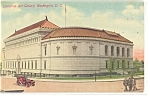 Washington, DC, Corcoran Art Gallery Postcard 1910