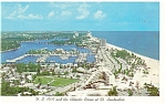 Ft Lauderdale,FL, A1A and the Ocean Postcard