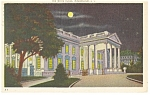 Washington DC White House Postcard 1941