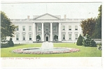 Washington DC White House Postcard
