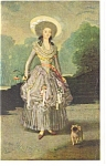 Washington DC Goya Artwork National Gallery Of Art Postcard p11256