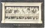 Proctor,VT, Last Supper in Marble  Postcard 1947