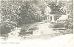 Jim Thorpe,PA, Glen Onoko, Terrace Cascade  Postcard