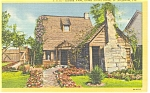 Click here to enlarge image and see more about item p11281: St Augustine Florida Oldest School House Postcard p11281