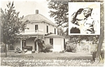 Abilene, KS, Eisenhower Home Postcard