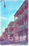 New Orleans, LA French Quarter Postcard