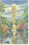Click here to enlarge image and see more about item p11318: Lake Wales FL Singing Tower Postcard p11318 1948