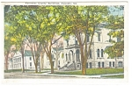 Click here to enlarge image and see more about item p11329: Augusta ME Kennebec County Bldgs Postcard p11329