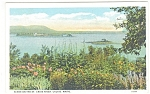 Click here to enlarge image and see more about item p11330: Calais ME Scene on the St Croix River Postcard p11330