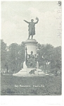 Frederick, MD, The Key Monument Postcard 1906