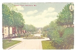 Click here to enlarge image and see more about item p11342: Baltimore MD Eutaw Place Postcard p11342 1912