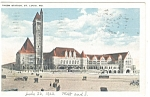 St Louis, MO, Union Station Postcard 1922