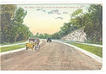 Click here to enlarge image and see more about item p11355: Kansas City MO Cliffs Park Drive Postcard p11355 1909