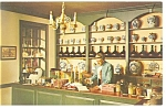 Click here to enlarge image and see more about item p11357: Williamsburg VA  Apothecary Shop Postcard p11357