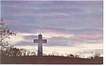 Click here to enlarge image and see more about item p11416: Alto Pass,IL, Bald Knob Cross Postcard