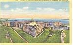 St Augustine,FL, Castillo De San Marcos Postcard